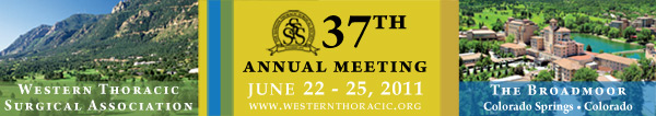 Western Thoracic Surgical Association 37th Annual Meeting